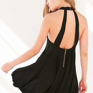 Urban Outfitters Black Back Dress
